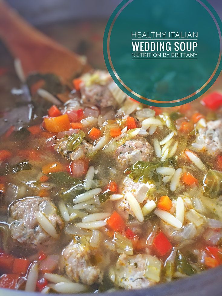 Single post Wedding soup, Italian wedding soup, Healthy