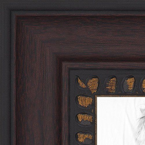 Arttoframes 10x15 Inch Cherry Slope With Dark Gold Edges Wood Picture Frame 2womd10488 10x15 Click I Wood Picture Frames Picture Frames Picture Frame Colors