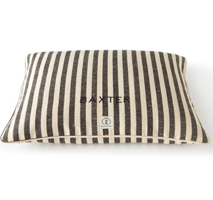 stripe pet pillow bed