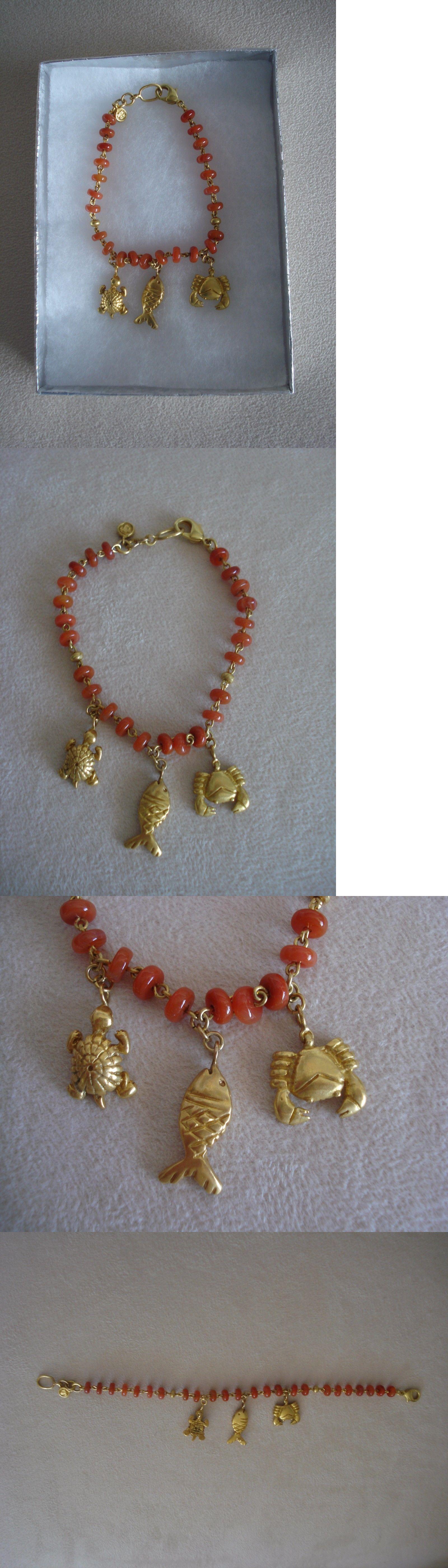 Bracelets 98504 Precolumbian Replica Bracelet Semiprecious Stones