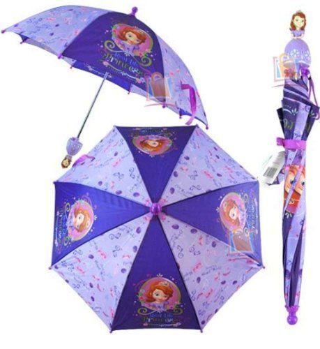 Disney Girl S Sofia The First Pincess Umbrella 3d Handle Disney Http Www Amazon Com Dp B00gs87qaa Ref Cm Sw R Pi Dp Ls Disney Girls Sofia The First Umbrella