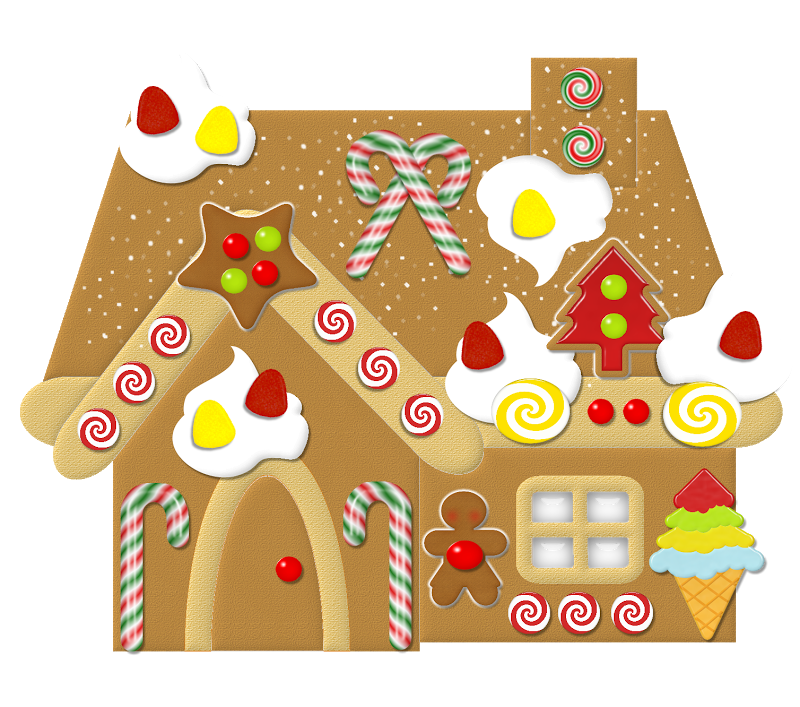 GINGERBREAD HOUSE *