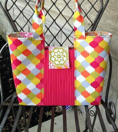 Gracie Handbag Sewing Pattern + Free Video Tutorial