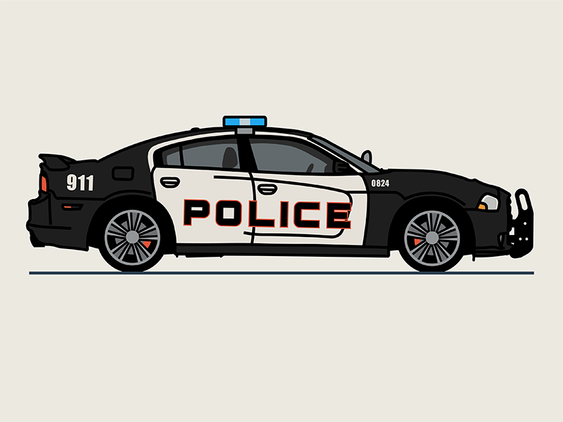 Police Charger In 2020 Car Drawings Police Motorbike Illustration