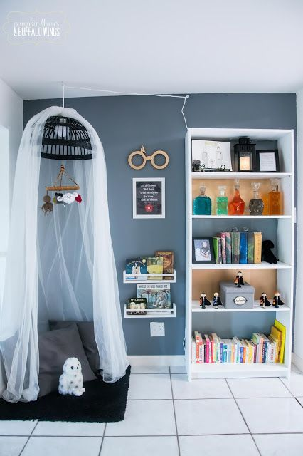Of Pumpkin Thieves And Buffalo Wings Harry Potter Themed Reading Nook Reveal Reading Nook Nook Home