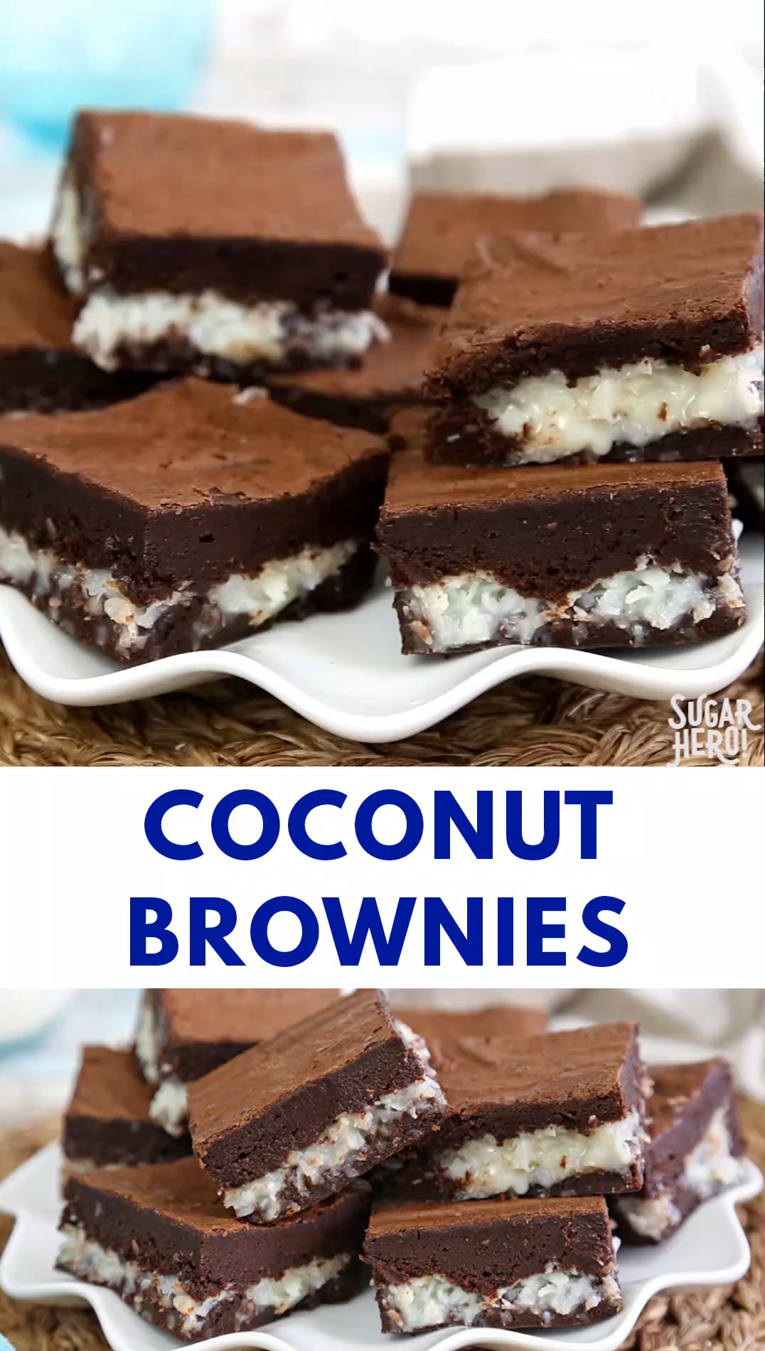 The Best Coconut Brownies Video