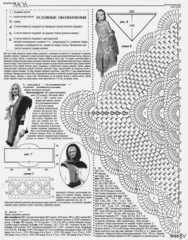 PATRÓN DE CHAL RUSO A CROCHET | Patrones Crochet, Manualidades y ...