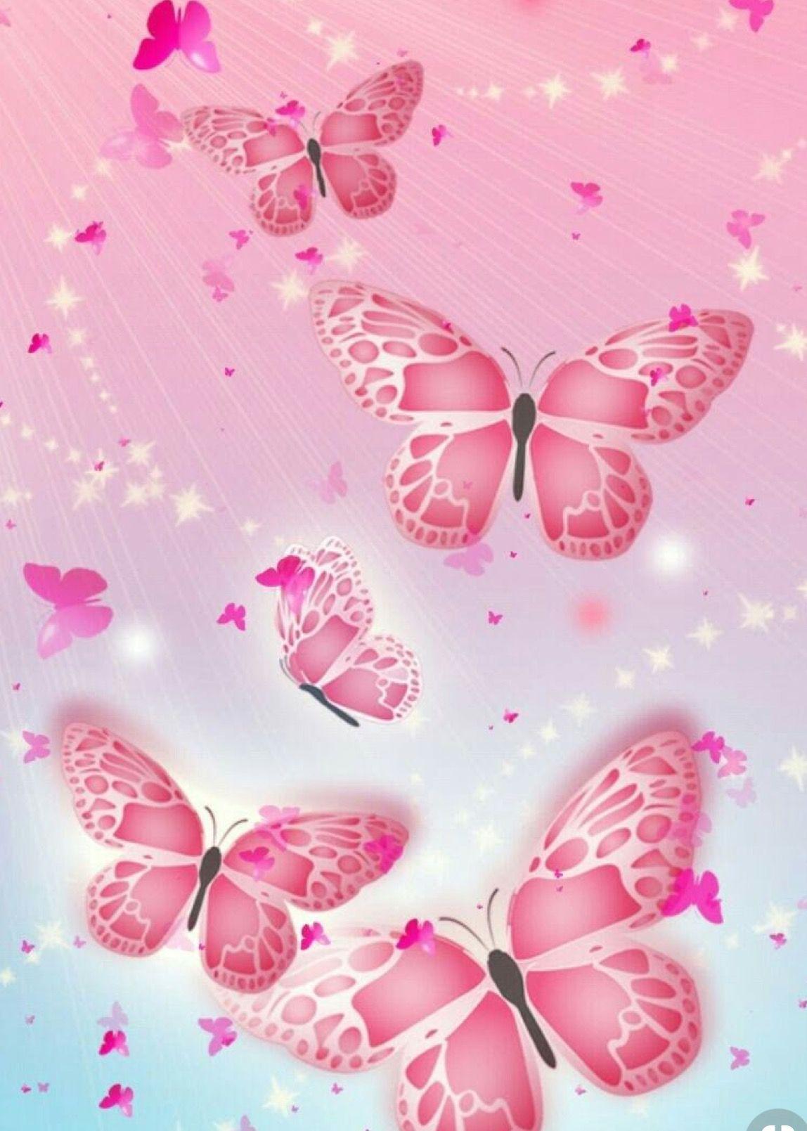 Pin By Traci Jervas On I Like 3 Pinky Wallpaper Butterfly Art Owl Wallpaper