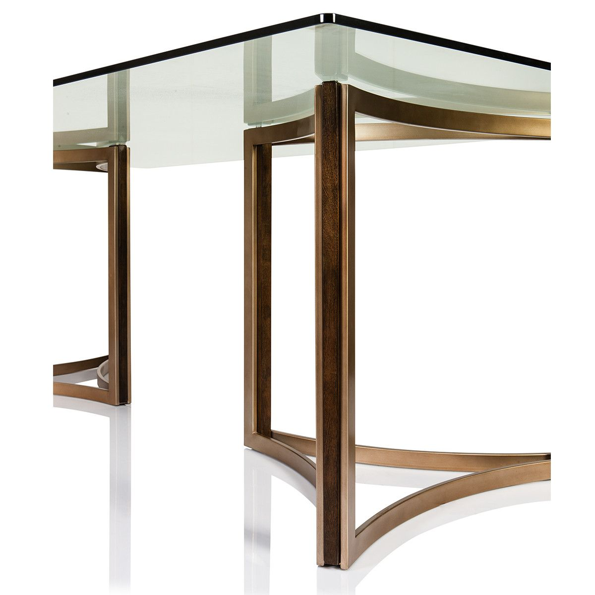 Manhattan Glass Top Dining Table In 2019