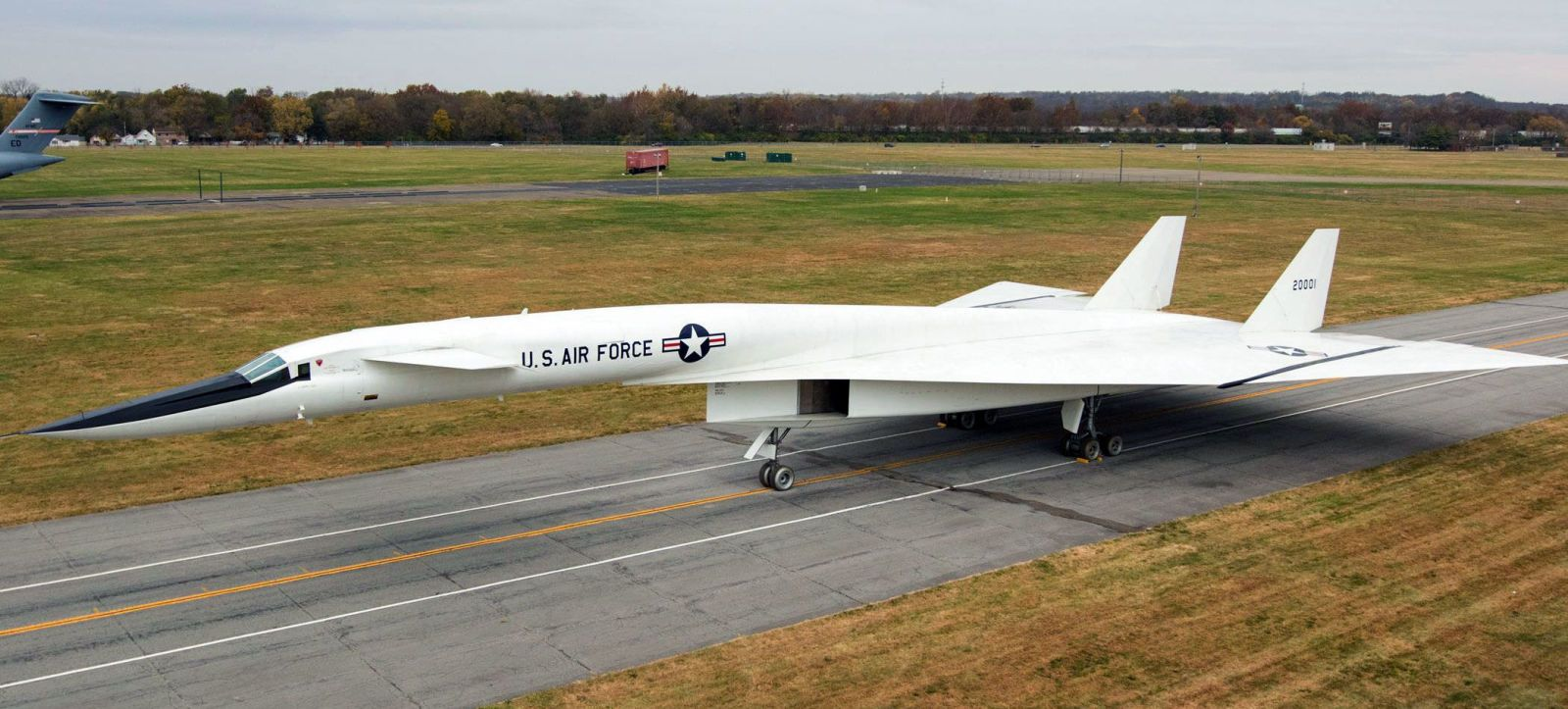 Rare Supersonic Bomber Rolls Out of the Hangar for the First Time in