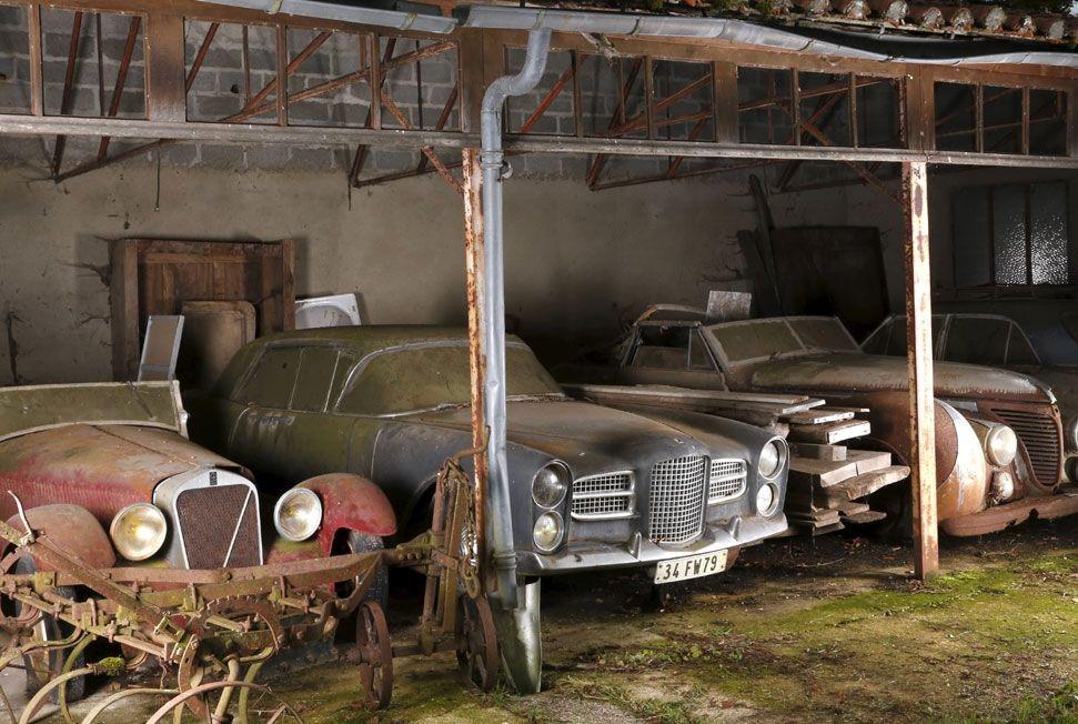 la collection baillon un tr sor automobile oubli vendu aux ench res durant r tromobile cars. Black Bedroom Furniture Sets. Home Design Ideas