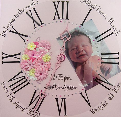 Scrapbook Idea For New Baby Love This Layout Pinterest
