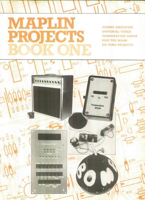 Maplin Projects Book One Combo amplifier Universal timer