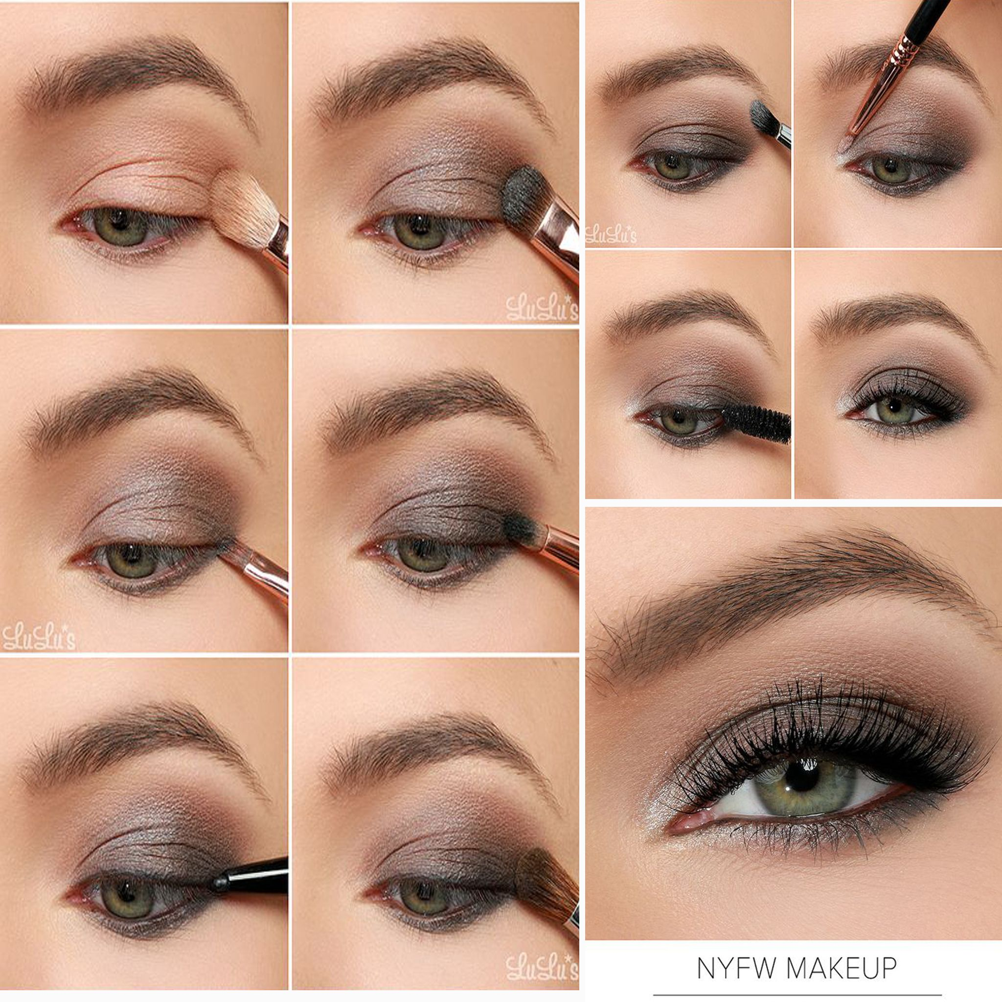 8 easy smokey eye makeup tutorials for beginners | smokey