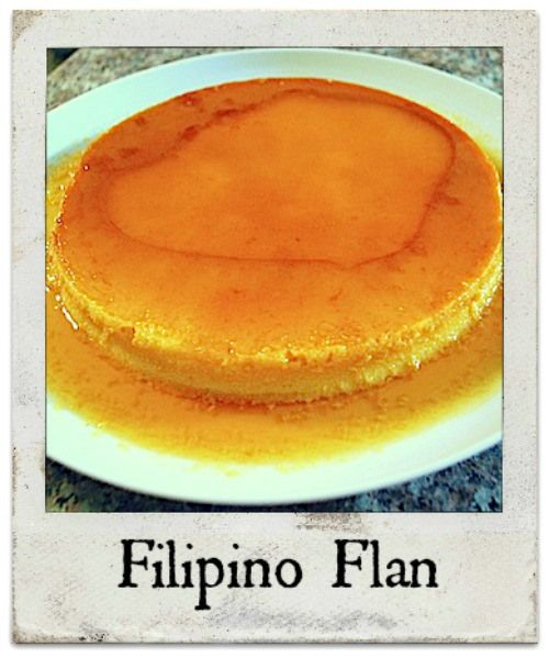 Filipino Flan Recipe- easy, creamy, light, sweet recipe from the Philippines. Fun dessert to make to impress, but also would work for an international week pot-luck or taste of flavors from around the world.