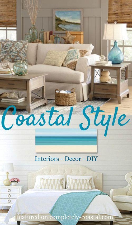 Coastal Decor & Interior Design Guide | How to Decorate Coastal