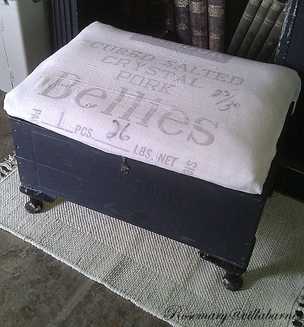 5 Minute Footstool Storage With Images Jewelry Box Makeover