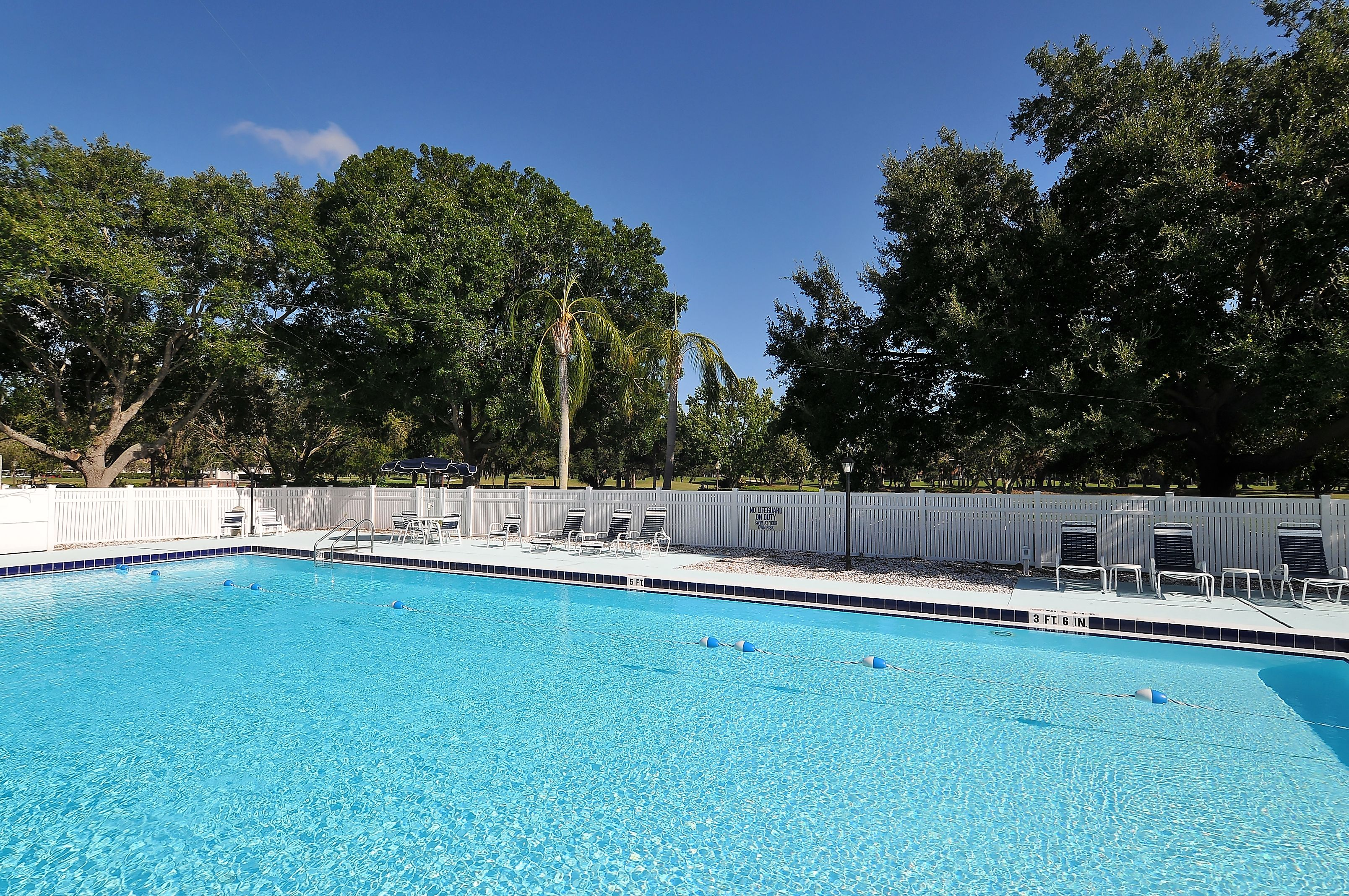 Pool at Palm Aire Country Club, Sarasota, FL