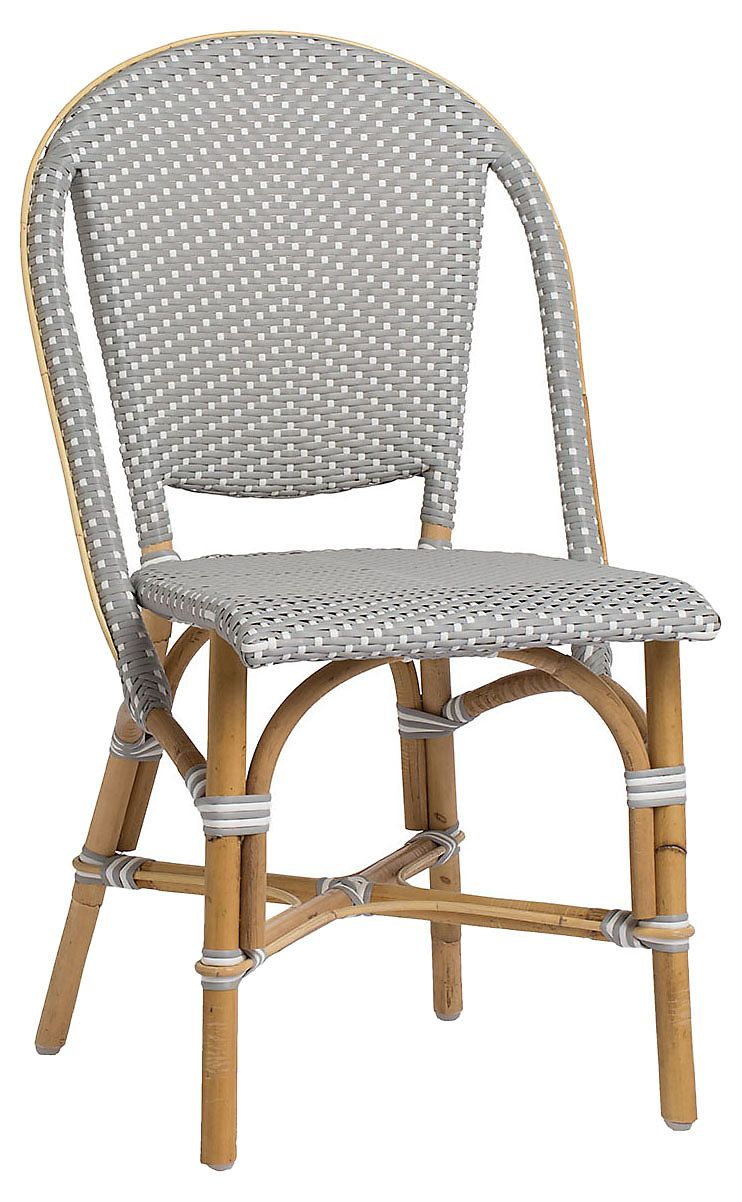 White Bistro Chairs A Modern Interpretation Of A Classic Parisian Bistro Chair This