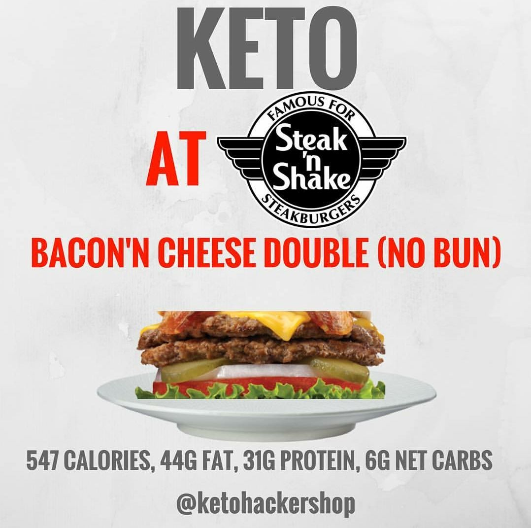 steak and shake keto diet