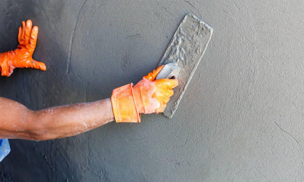 Comment faire du béton ciré sur du carrelage ?\u2026 inspiration - peinture beton cire mur