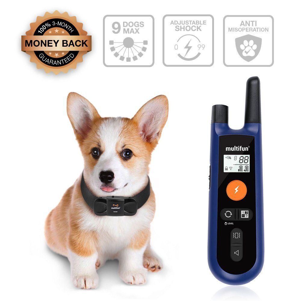 Upgraded Remote Dog Training Collar Multifun Fool Operation