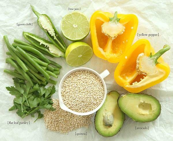 Picnic quinoa salad