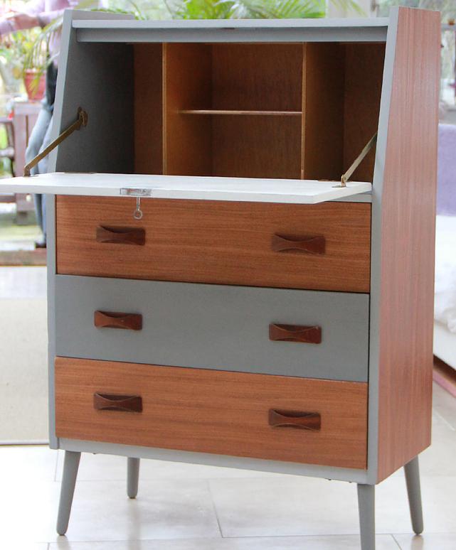 Bespoke Upcycled Mid Century Retro Furniture Sideboard