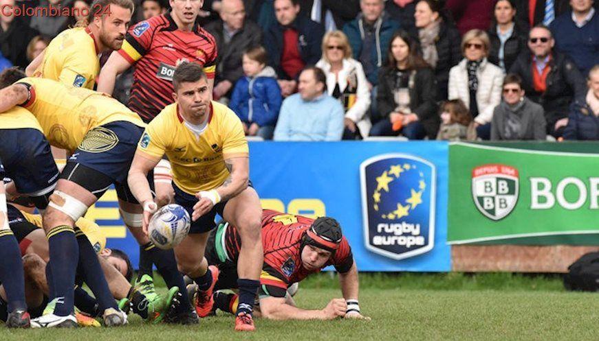 Romania Belgium Rugby Europe Championship 2018