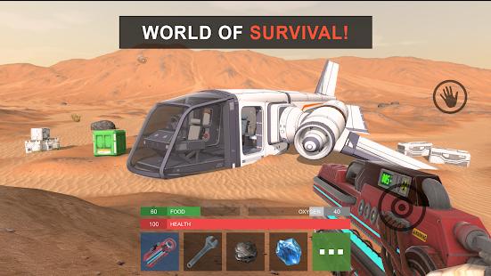 Marsus Survival On Mars + Mod (Hunger Value / Oxygen Is