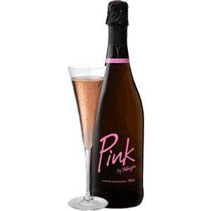 I love pink sparkling wine!