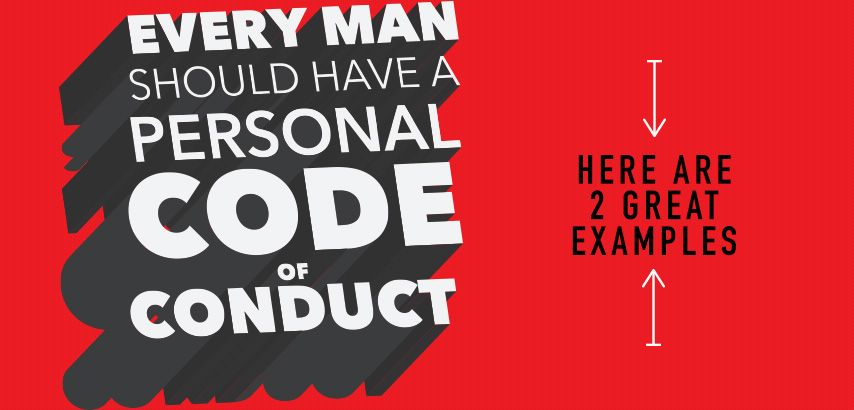 Have A Personal Code Of Conduct  Health And Motivation