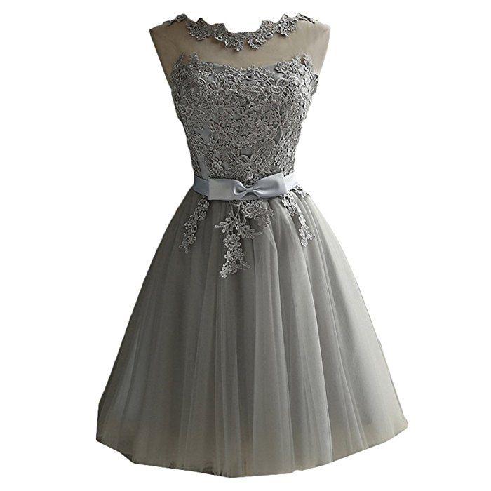 Scothen Damen Brautjungfern kleid Festliches Kleid Hochzeitsfeier ...