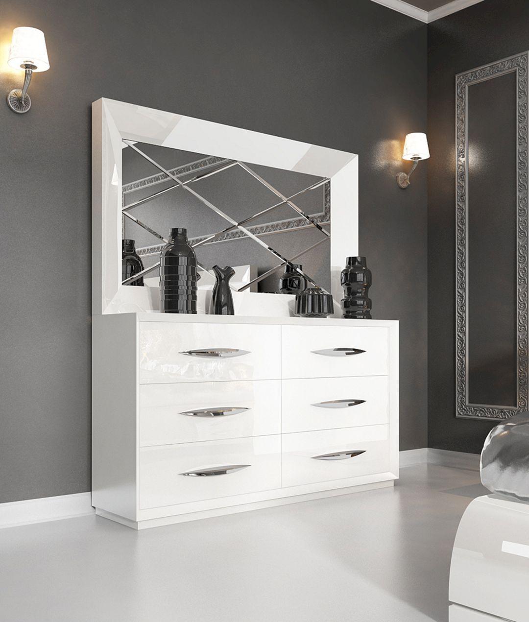 Bedroom Dressers With Mirrors 1 Decorathing Mobilier De Chambre Commode Miroir Meubles De Chambre Moderne