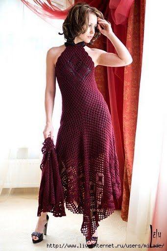 This beautiful dress has diagrams
