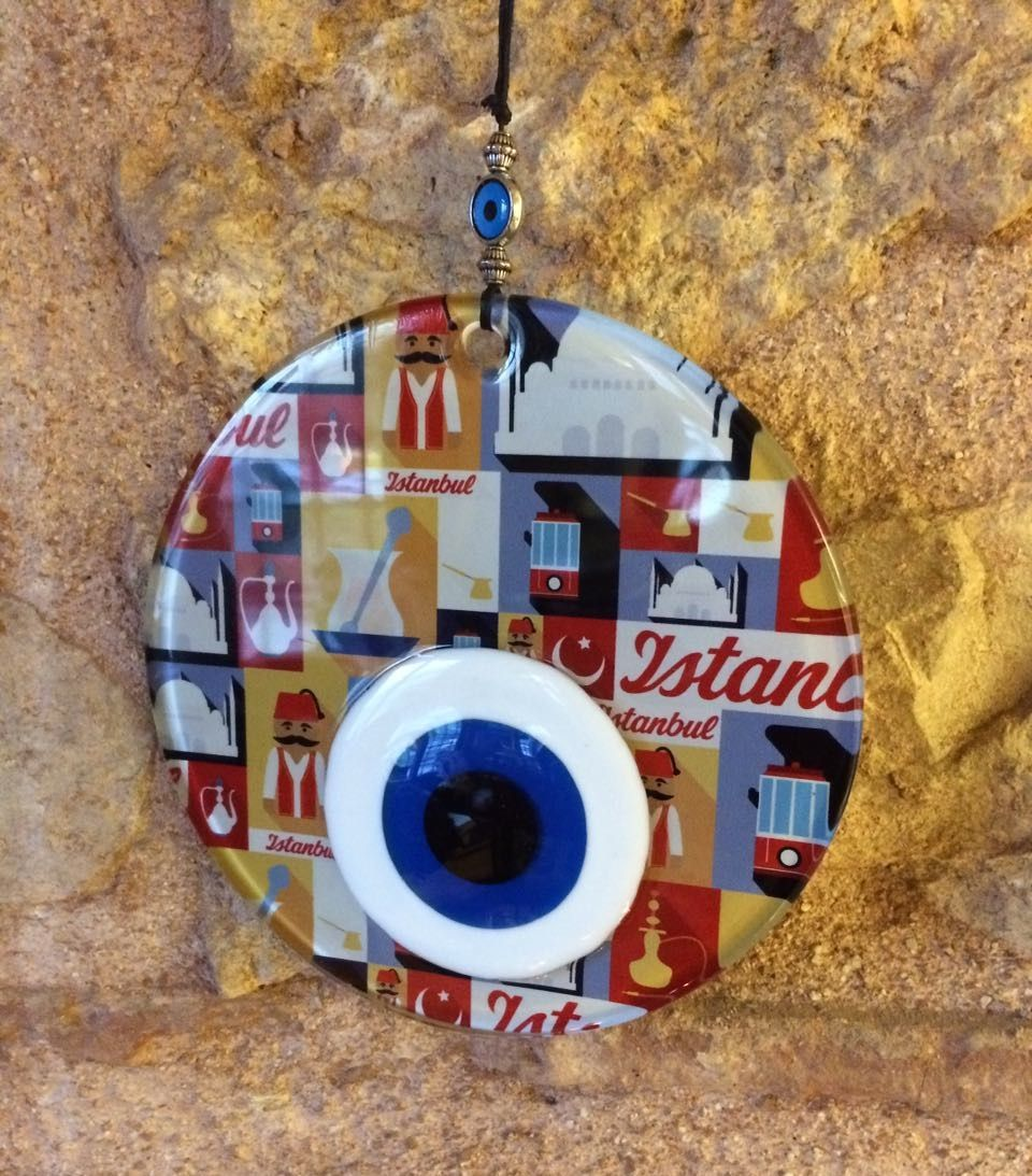 Handmade evil eye wall decor 15 cm 59 0016 evil eye lucky handmade evil eye wall decor 15 cm 59 amipublicfo Gallery