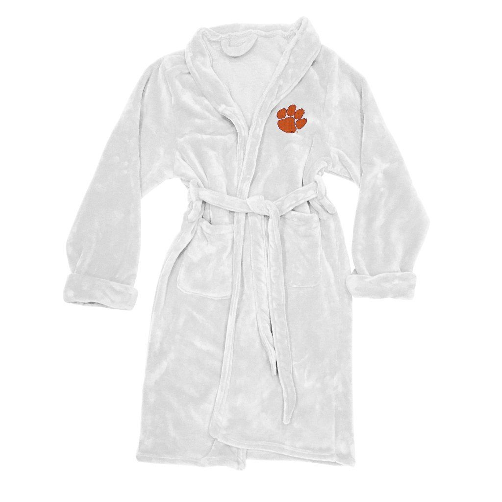 203b550487 Clemson Tigers Men s Silk Touch Plush Bath Robe made by Northwest ...