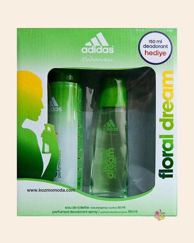 Adidas Floral Dream Bayan Parfüm Seti Edt 50 Ml Ve Deodorant 150 Ml