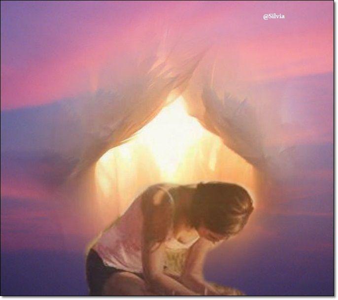 Surrender   Prophetic art,  Prophetic painting, Shekinah glory