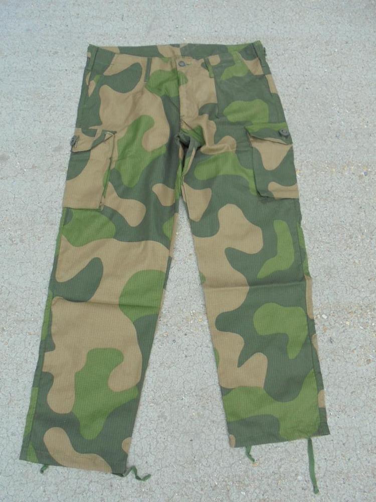 59c0cf0e NEW Norwegian Army M98 RIPSTOP Temperate Camouflage Combat Trousers British  Made | eBay