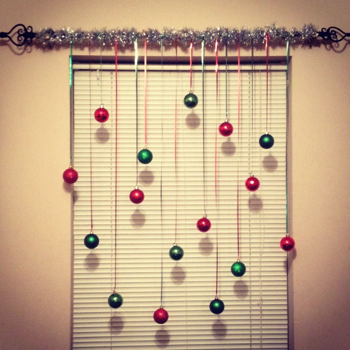 Quotes From A Christmas Carol Stave 4: DIY Christmas Ornament Curtain (:
