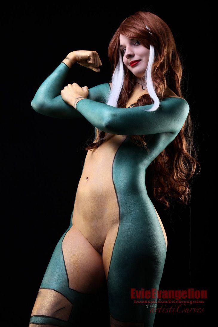Nude asian superhero girl, naked gothic pussy