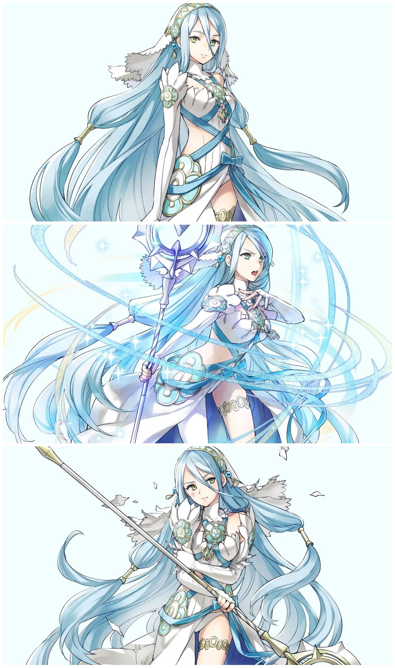 Azura sprites from Fire Emblem Heroes Fire emblem azura