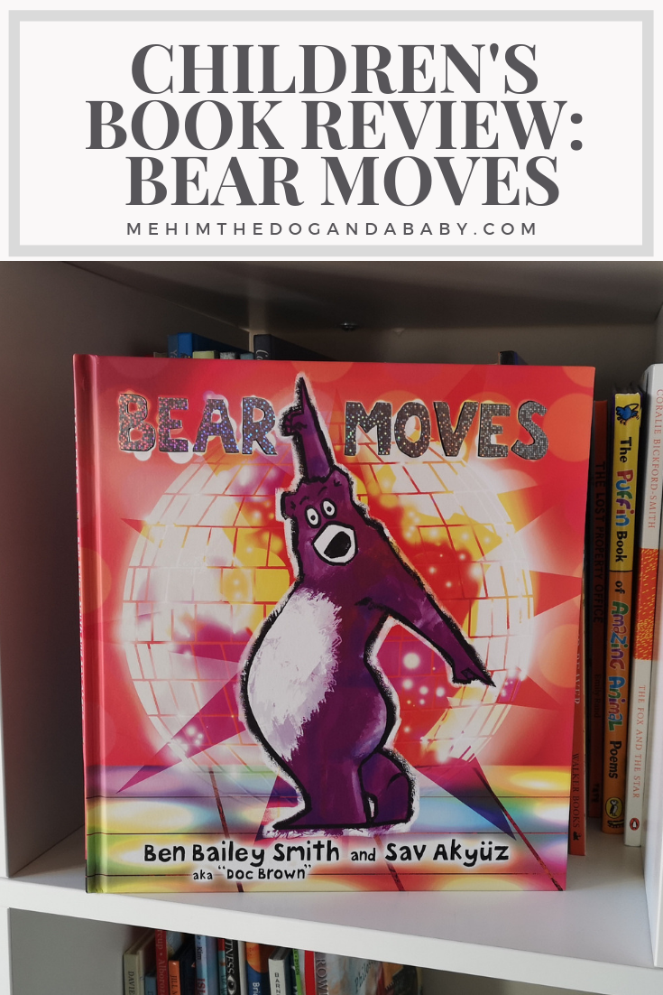 Children's Book Review Bear Moves Book reviews for kids