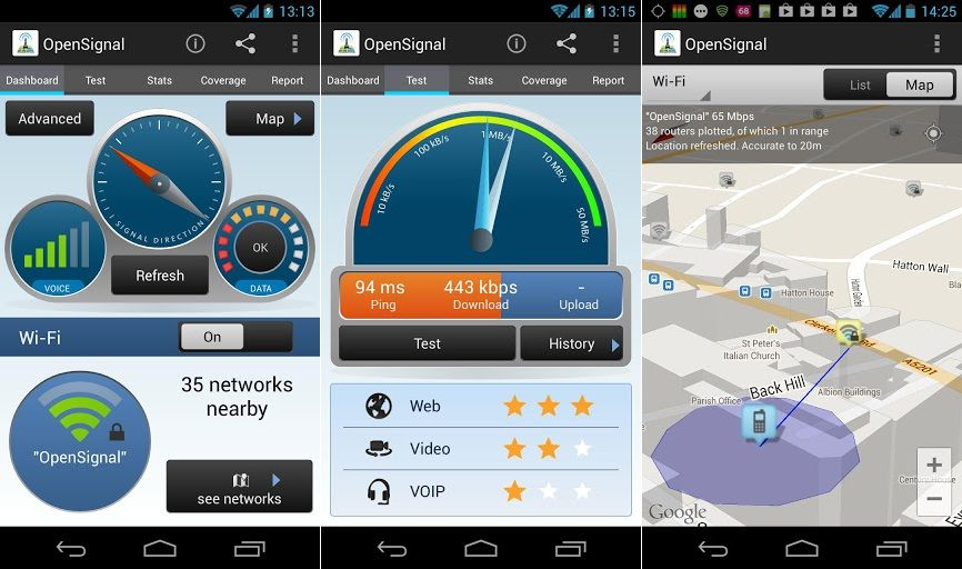 3G-4G WiFi Maps & Speed Test app  with this app you can
