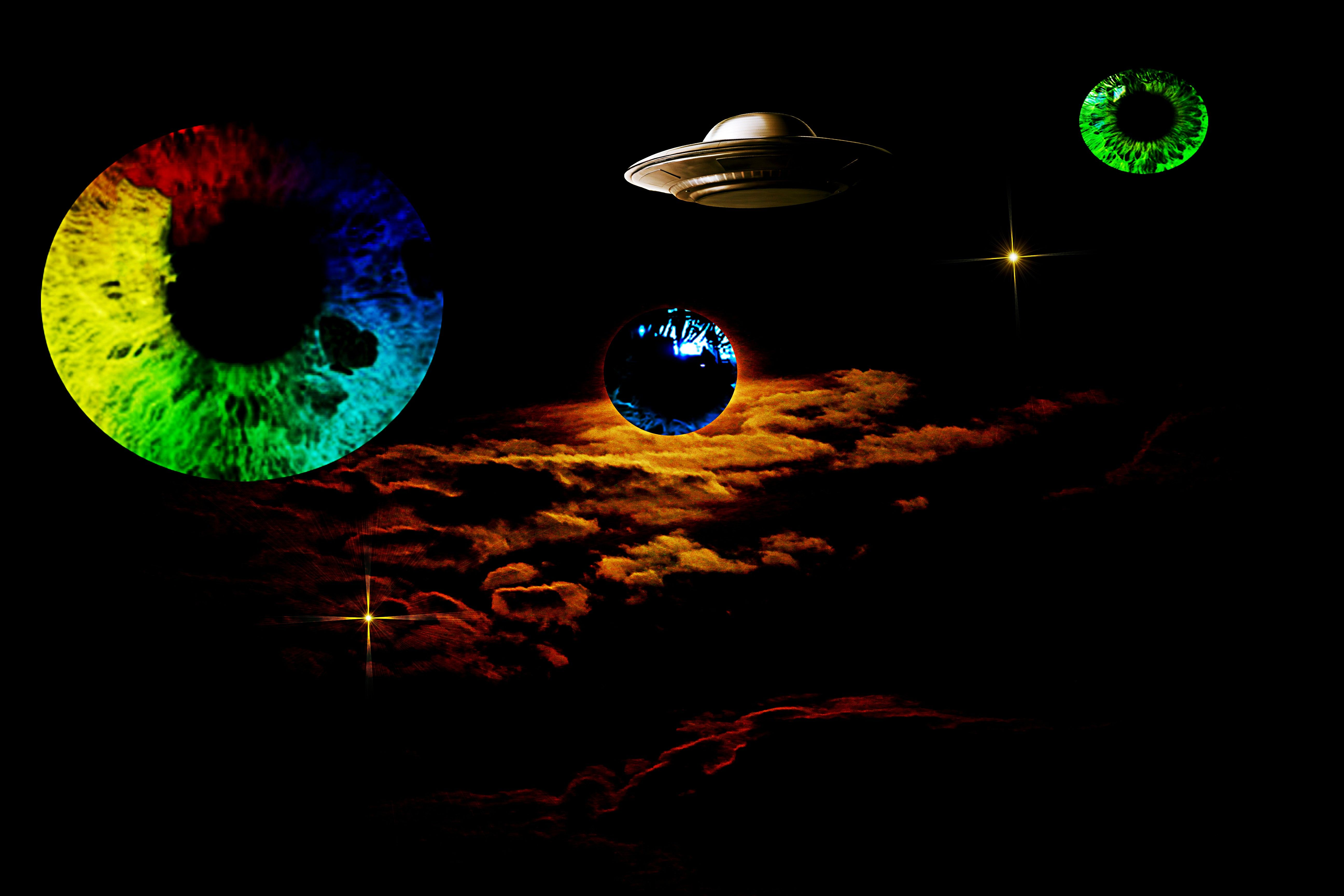 The Universe As I See It Planets Are Real Eyeballs