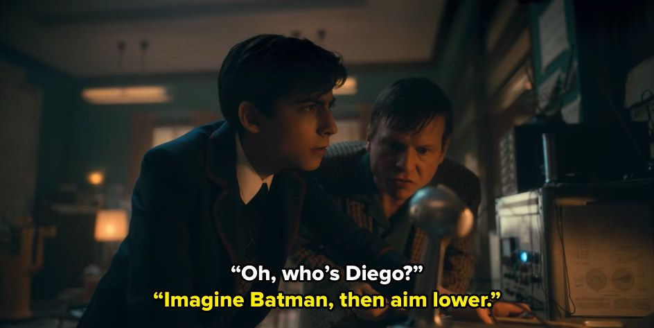 When Five Roasted Diego By Using This Superhero Analogy To Describe Him Funny Umbrella Umbrella Academy
