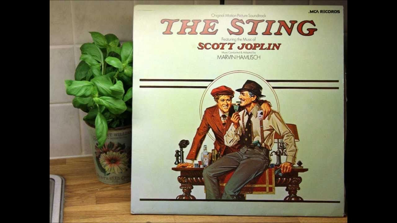 The Sting 1973 Soundtrack 11 Pine Apple Rag Soundtrack Scott Joplin The Entertainer Sting