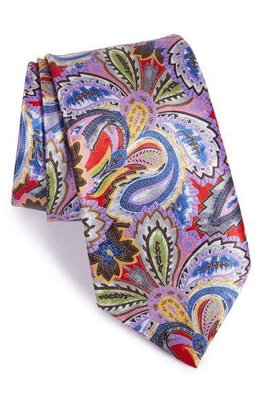 ultimo design vendita professionale vari design Ermenegildo Zegna 'Quindici' Paisley Print Silk Tie