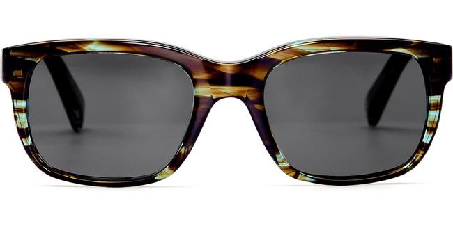 Paley in Blue Marblewood - Sunglasses - Women | Warby Parker